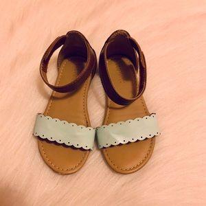 Old Navy Mint Cognac Sandals